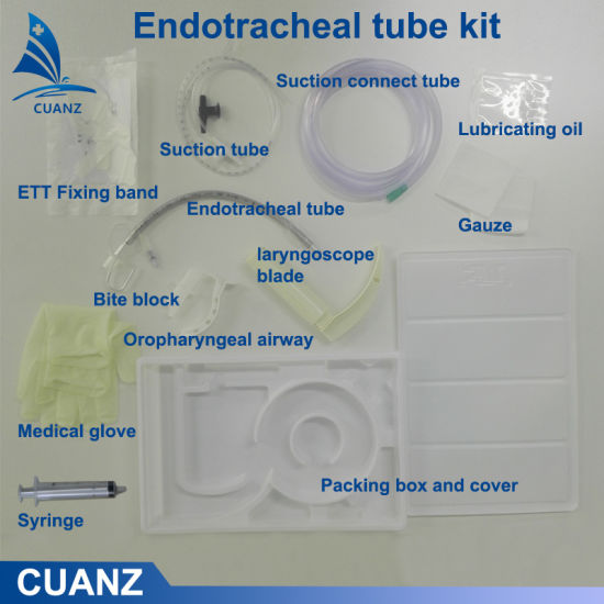 Disposable Medical Tracheal Tube Kit Endotracheal Catheter Kit Tracheal Intubation